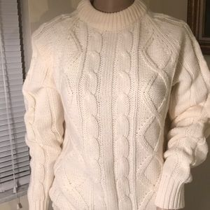 7b86f733a4e Sigallo Sweaters - Unisex cable knit sweater by Sigallo